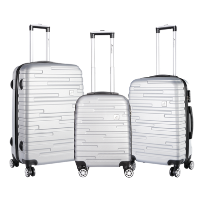 Travelwize Alto Hard Case Silver