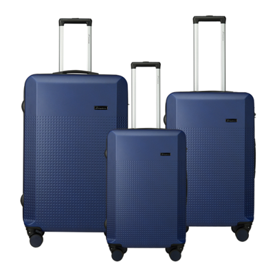 Travelwize Cyclone 3-Pc ABS Luggage Set