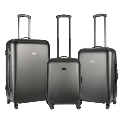 Travelwize Misty Series 3-Pc ABS Luggage Set