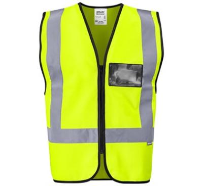 Direction En4 Hi-Viz Reflective Full Zip Vest